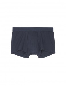 Stretch cotton low waist trunks