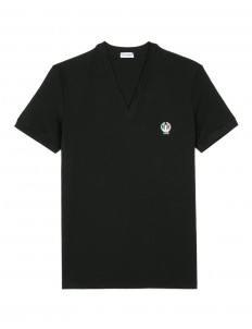 'Sport Crest' cotton undershirt