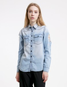 Light Blue Trixie 1603 Shirt
