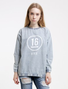 Light Blue Woad Sweater