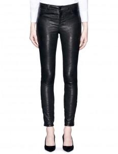 'Super Skinny' stretch leather pants