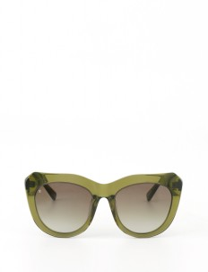 Glass Bottle Green Hepburn Glasses