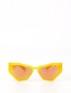 Yellow 'For Your Eyes Only' Glasses