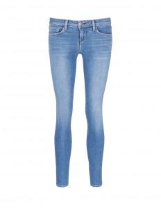 'The Chantal' skinny denim ankle grazer pants