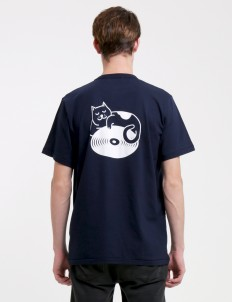 Navy Easy Cat T-Shirt