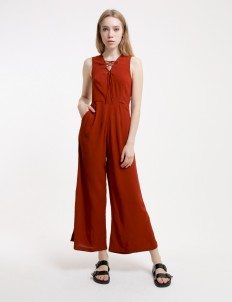 Terracotta My Heart Beats Forever Jumpsuit