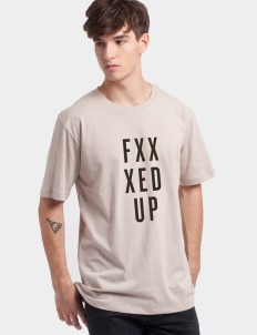 Light Brown Fxxxed Up Tee