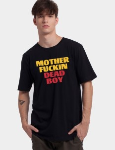 Black Motherfuckin Deadboy Tee