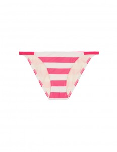 'Morgan' stripe bikini bottoms