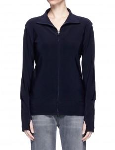 'Turtle' raw-cut reversible zip jacket