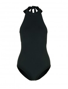 'Monroe' halterneck one-piece swimsuit