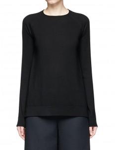 'Heba' Merino wool-cashmere sweater