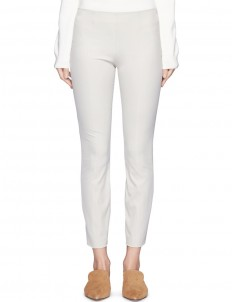'Cosso' stretch twill slim cropped pants