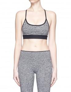 'Lucent' lattice back sports bra top