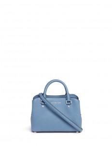 'Savannah' small saffiano leather satchel