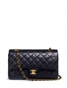 "Quilted lambskin leather 10"" 2.55 bag"