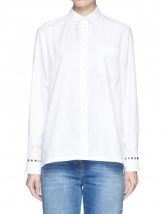 'Rockstud Untitled 05 Noir' poplin shirt