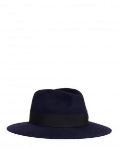 'Henrietta' rabbit furfelt fedora hat