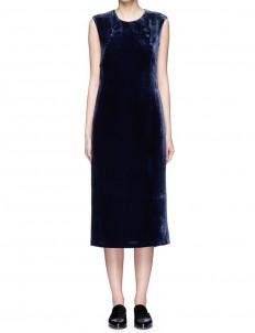 'Michelle' velvet midi dress