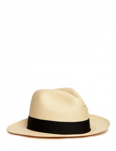 Paint splatter toquilla straw panama hat