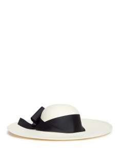 'Lady Ibiza' twist bow toquilla straw sun hat