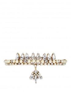 'Born Again' Swarovski crystal velvet choker