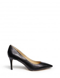 """Tristan' leather pumps"