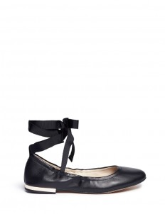 'Fallon' lace-up ballet flats