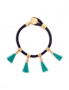 'Marin' tassel rope bracelet