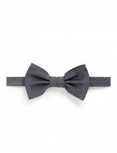 Raw edge trim bow tie