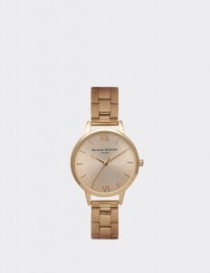 Gold Midi Dial Bracelet Watch