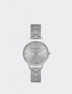 Silver Midi Dial Bracelet Watch