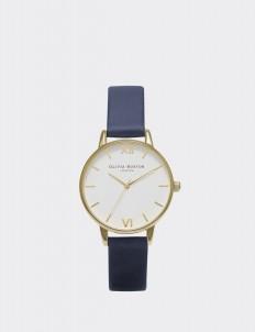 Navy & Gold Midi Dial Watch