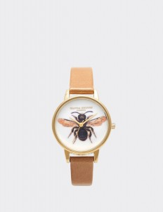 Camel & Gold Woodland Bee Camel Watch