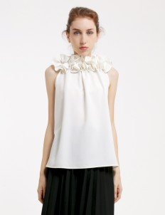 White Jocelyn Top