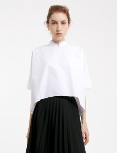White Bodo Top