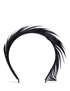 'Lisbeth' feather headband