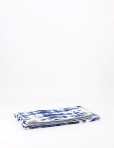 Shibori Daylight Baby Blanket