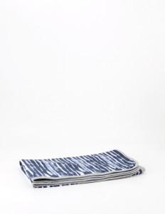 Shibori Midnight Baby Blanket