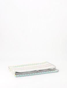 Multicolor Kissy Baby Blanket