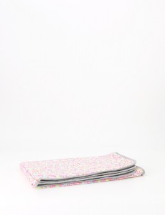 Neon & Gray Nerds Baby Blanket