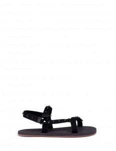 'Rockstud' webbing strap sandals