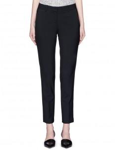 'Testra' cropped wool-blend pants