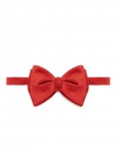 'LAX1' silk blend diamond point bow tie
