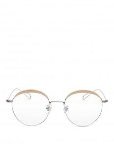 'Milli 04' acetate browline metal wire optical glasses