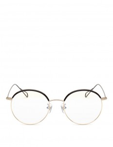 'Milli 01' coated metal wire rim optical glasses