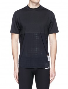 'Race' perforated panel running T-shirt