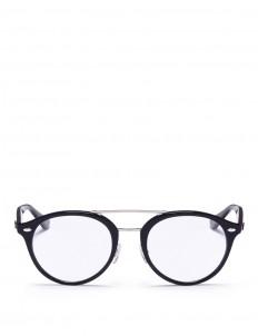 'RX5354F' round acetate optical glasses