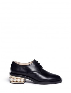 'Casati Pearl' leather Derbies