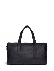 'Bel Ami' saffiano leather duffle bag